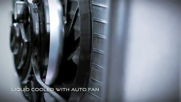 15. Liquid Cooled With Auto Fan