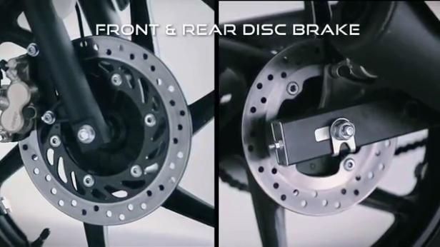 25 Front&Rear Disc Brake