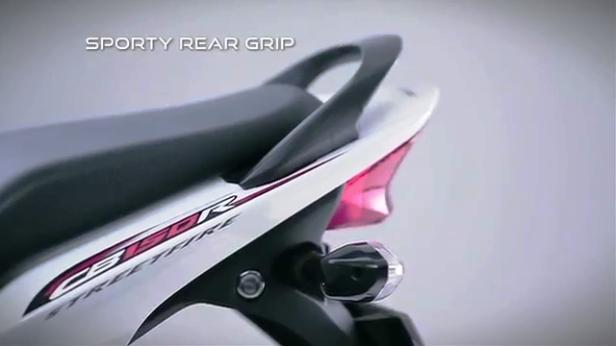 8 Sporty Rear Grip