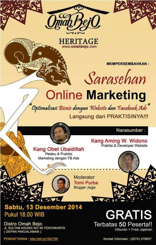 Sarasehan-Online-Marketing