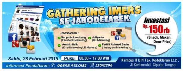 Gathering-IMERS-Se-Jabotabek