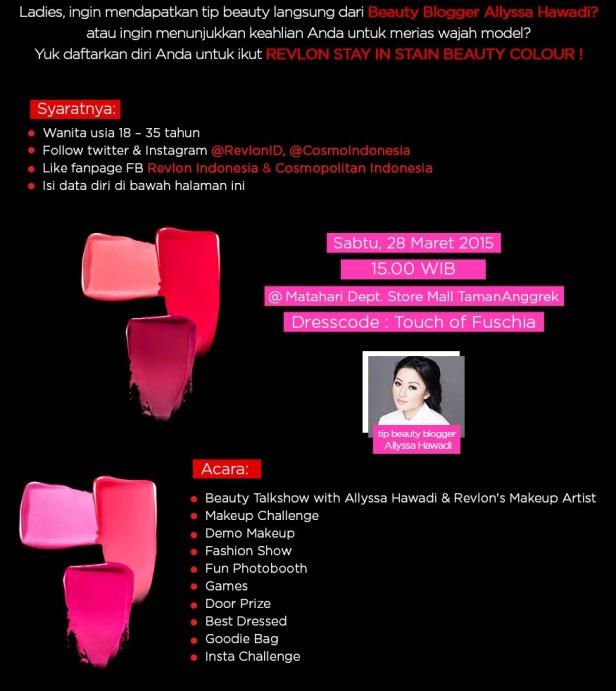 Beauty-Talkshow-Revlon-Allyssa-Hawadi