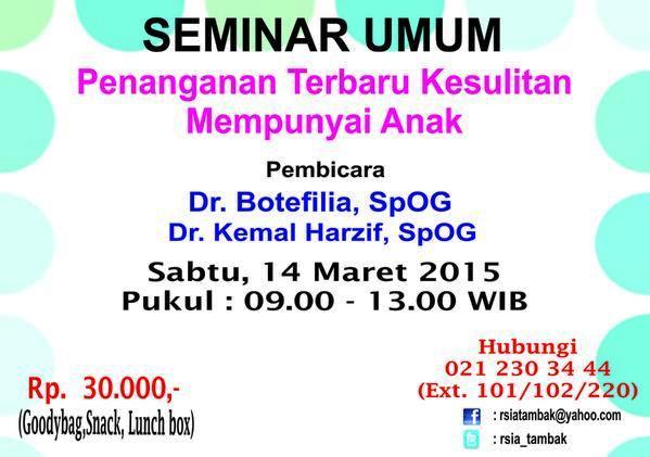 Seminar-Umum-RSIA-Tambak