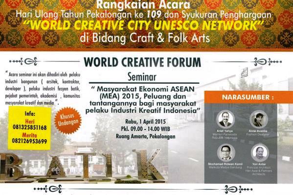 Seminar-World-Creative-Forum-Pekalongan