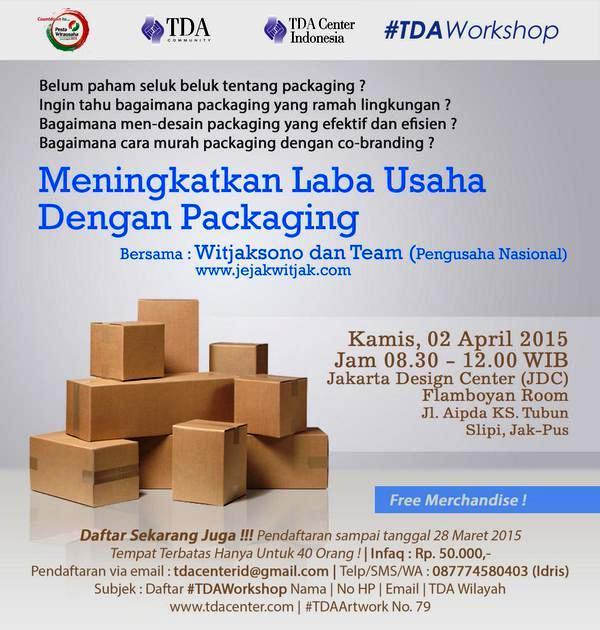 TDA-Workshop-Packaging