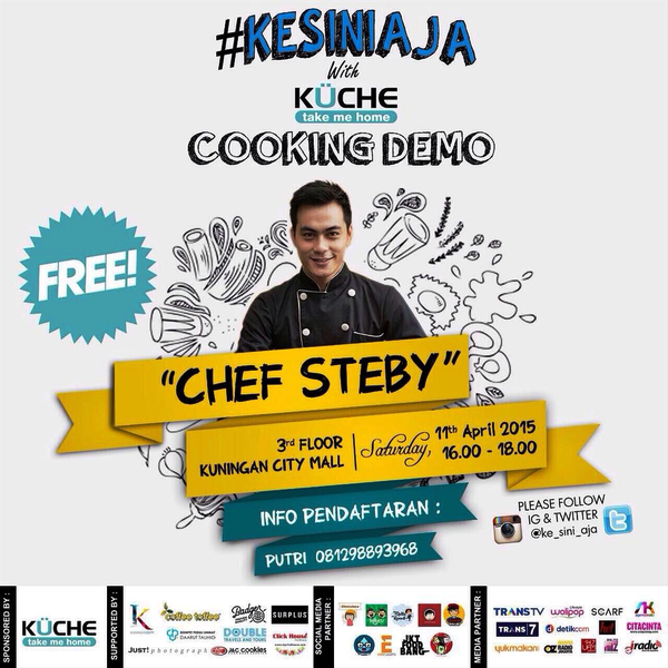 Cooking-Demo-KUCHE-#Kesiniajah