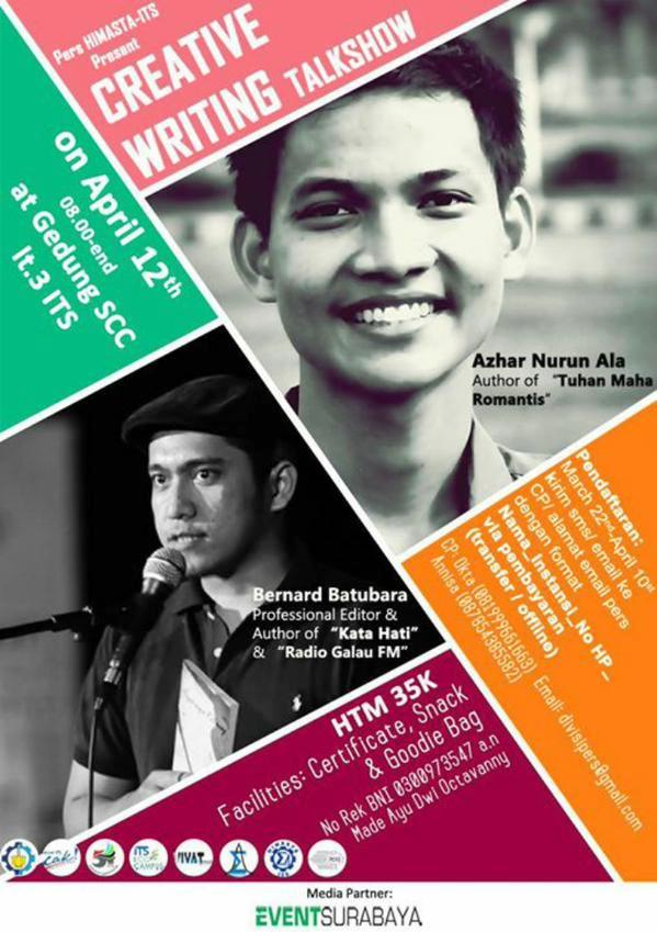 Creative-Writing-Talkshow-ITS-Surabaya
