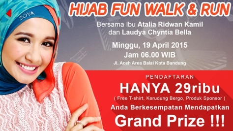 Hijab-Fun-Walk-Run-Laudya-Chintya-Bella-Atalia-Ridwan-Kamil