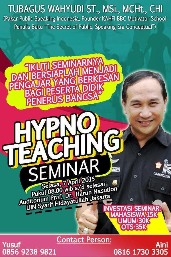 Hypno-Teaching-Seminar-Universitas-Islam-Negeri-Syarif-Hidayatullah