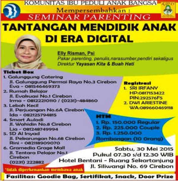 Seminar-Elly-Risman-Cirebon