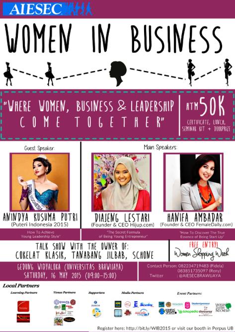 Seminar-Women-In-Business-Brawijaya-Malang