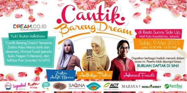 Cantik-Bareng-Dream-Zaskia-Adya-Mecca-Ahmad-Fuadi-Sunny-Side-Up