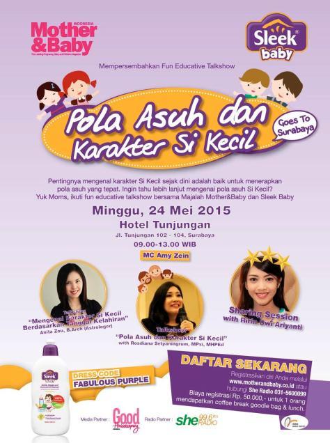 Fun-Educative-Talkshow-Mother-Sleek-Baby-Surabaya-Tunjungan