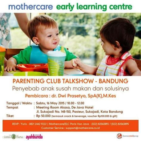 Parenting-Club-Talkshow-De-Java-Bandung