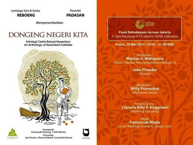 Peluncuran-Buku-Dongeng-Negeri-Kita-Semua-Joko-Pinurbo-Goethe-Institute