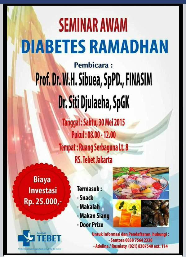 Seminar-Awam-Diabetes-Ramadhan-RS-Tebet