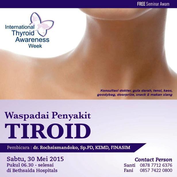 Seminar-Awam-Tiroid-Bethsaida-Healthtalk