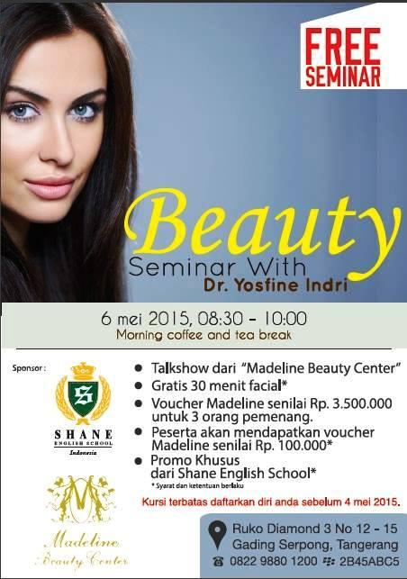 Seminar-Kecantikan-Madeline-Shane-English-School