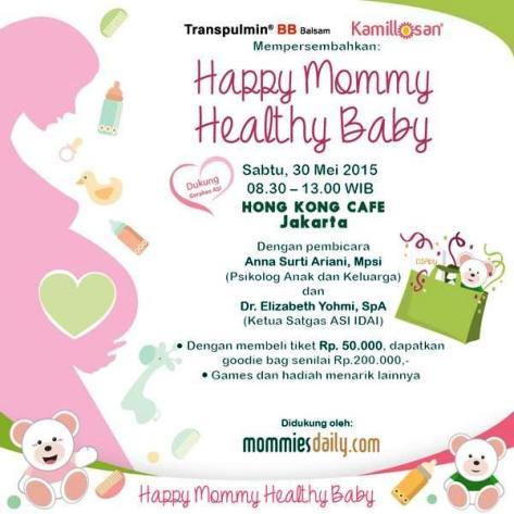 Talkshow-Happy-Mommy-Healthy-Baby-Hongkong-Cafe-Gondangdia-Menteng