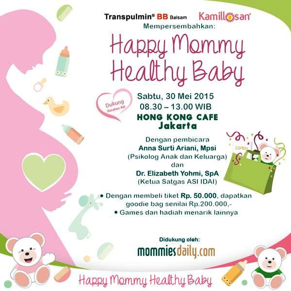 Talkshow-Happy-Mommy-Healthy-Baby-Hongkong-Cafe-Gondangdia-Menteng