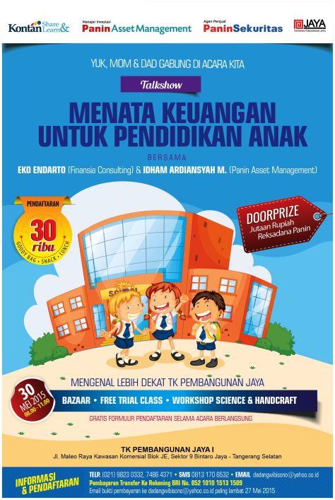 Talkshow-Keuangan-Dan-Pendidikan-Anak-Kontan-Panin-TK-Pembangunan-Jaya