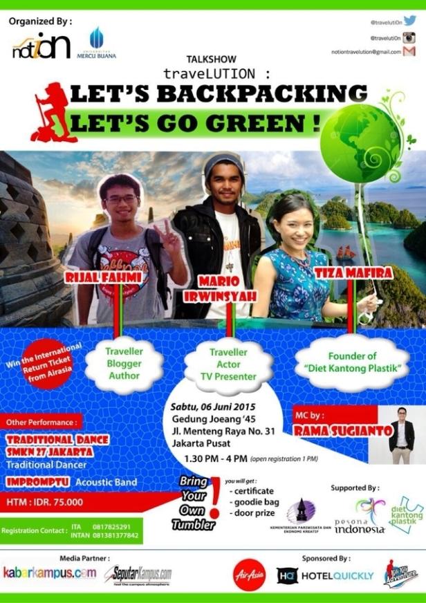 Talkshow-Travelution-Backpacking-Go-Green-@catperku