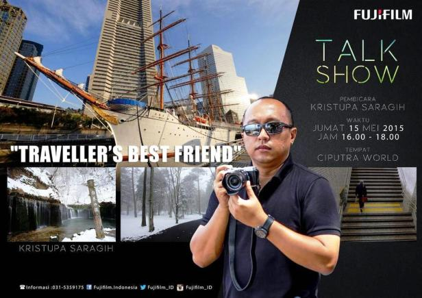 Talkshow-Workshop-Fujifilm-Kristupa-Saragih-Ciputra-World-Surabaya