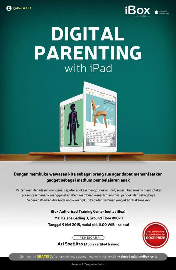 Workshop-Digital-Parenting-With-Ipad