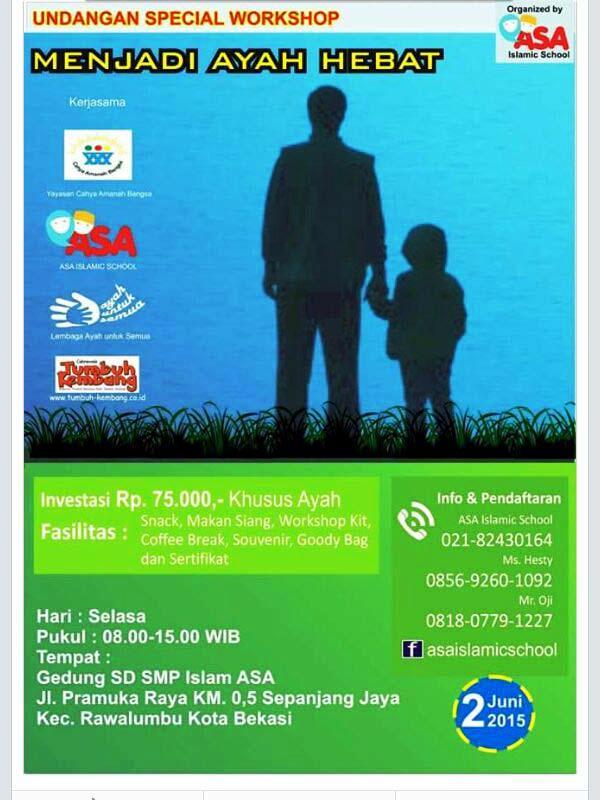 Workshop-Menjadi-Ayah-Hebat-Irwan-Rinaldi-ASA-Parenting-Bekasi