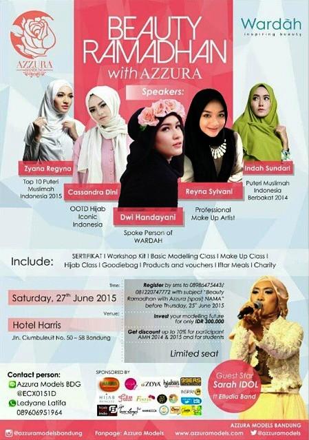 Beauty-Ramadhan-Azzura-Wardah-Harris-Ciumbuleut--Bandung