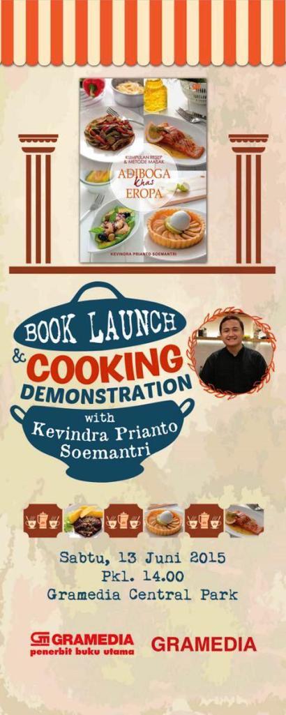 Book-Launch-Cooking-Demontration-Kevindra-Prianto-Soemantri-Kumpulan-Resep-&-Metode-Masak-Adiboga-Khas-Eropa
