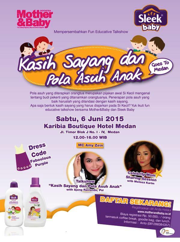 Fun-Educative-Talkshow-Mother-Sleek-Baby-Medan-Karibia-Boutique