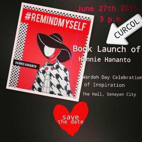 Launching-Buku-#Remindmyself-Hannie-Hananto-Wardah-Day