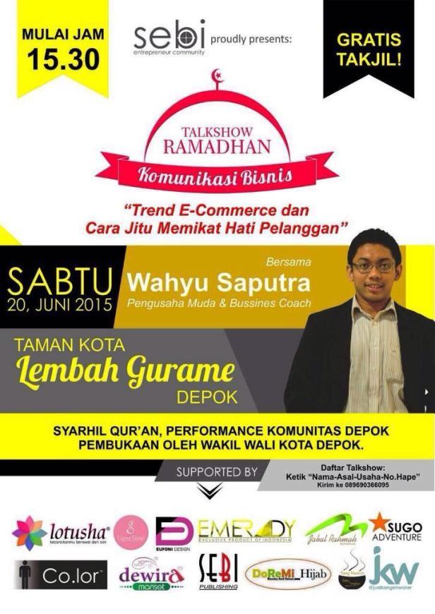 Ngabuburit-Talkshow-Ramadhan-Komunikasi-Bisnis-sebi-lembah-gurame-depok