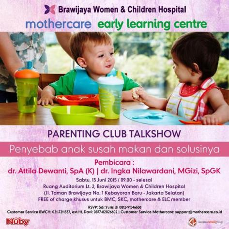 Parenting-Club-Talkshow-Mothercare-Brawijaya