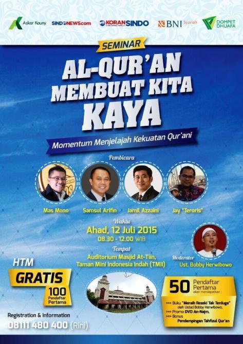 Seminar-Kaya-Dari-Al-Qur'an-Masjid-At-Tiin
