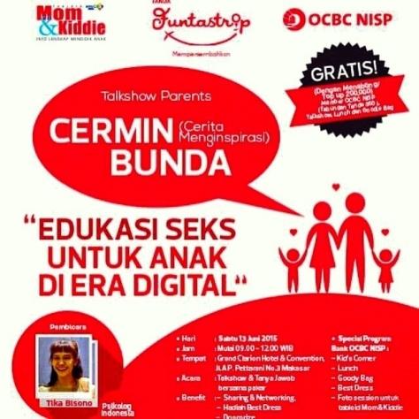 Talkshow-Cermin-Bunda-Tika-Bisono-Makassar-mom-kiddie