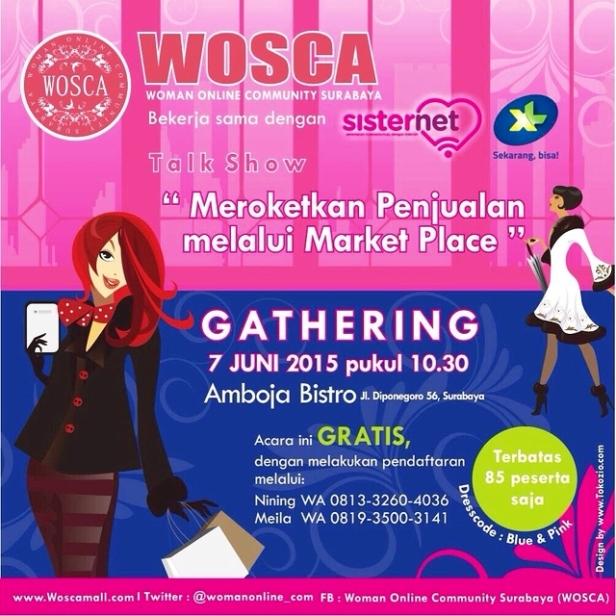 Talkshow-WOSCA-SisterNet-Surabaya