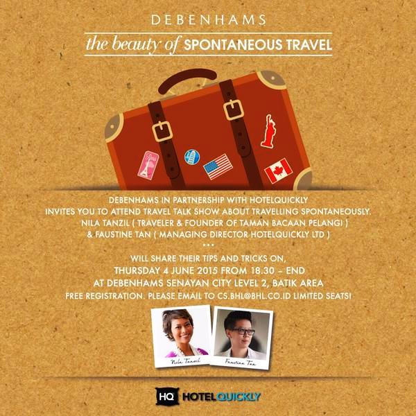 Travel-Talk-Show-HotelQuickly-Debenhams-Senayan-City