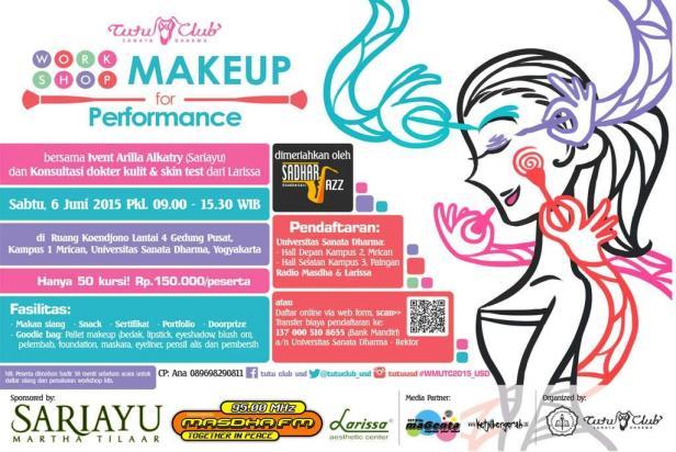 Workshop-MakeUp-For-Perfomance-Sanata-Dharma-Yogyakarta