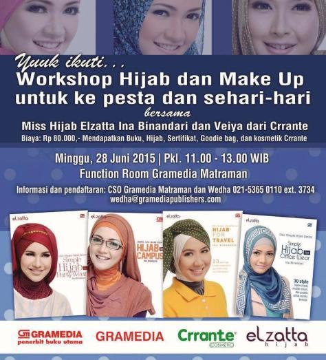 Workshop-Miss-Hijab-Elzatta-Gramedia-Matraman