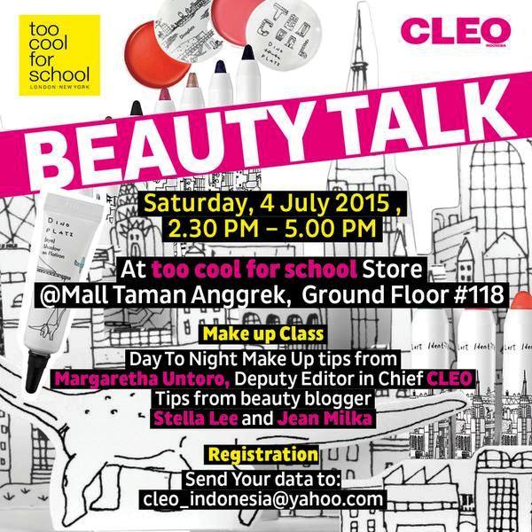 Beauty-Talk-CLEO-Mall-Taman-Anggrek-Stella-Lee