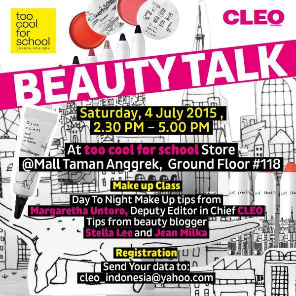 Beauty-Talk-CLEO-Mall-Taman-Anggrek-Stella-Lee