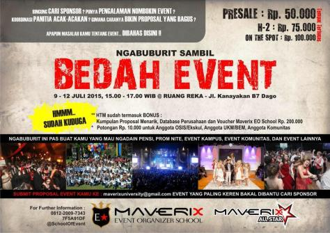 Bedah-Event-Organizer-School-Maverix-Ruangreka
