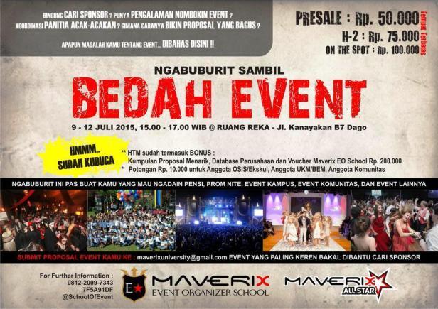 Bedah-Event-Organizer-School-Maverix-Ruangreka
