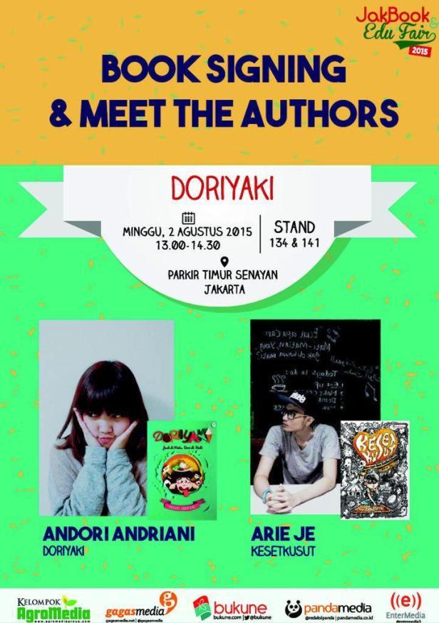 Book-Signing-Doriyaki-Keset-Kusut-Bukune-JaBook-Fair-2015