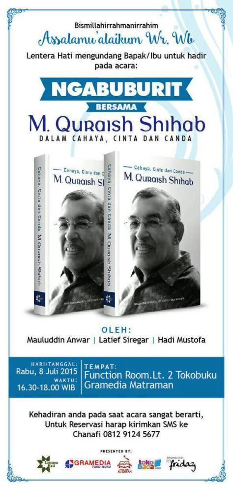 Ngabuburit-Bedah-Buku-Quraish-Shihab-Gramedia-Matraman