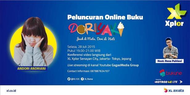 Online-Book-Launching-Doriyaki-Xplor-Senayan-City