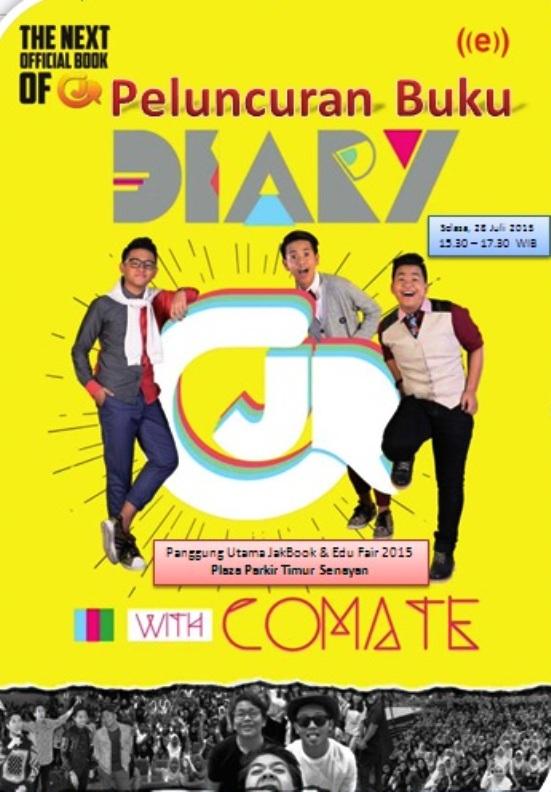 Peluncuran-Buku-Diary-CJR-with-Comate-JakBook-Edu-Fair-2015-Parkir-Timur-Senayan