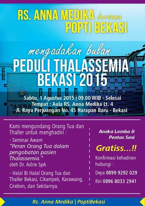 Seminar-Awam-Thalassemia-Anna-Medika-Peduli-Bekasi-2015